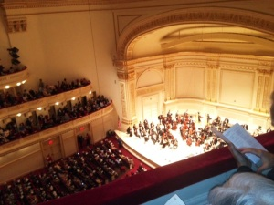 Carnegie Hall high up 1