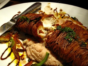 malanga wrapped snapper