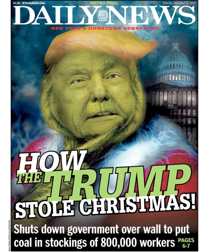 how the trump stole christmans